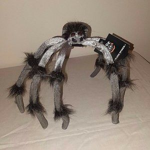 Large Stuffed Spider Big Scary Figure Halloween